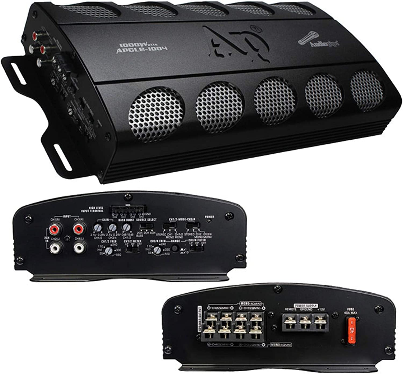 Audiopipe APCLE1004 Amplifier 1000 Watt 4 Channel
