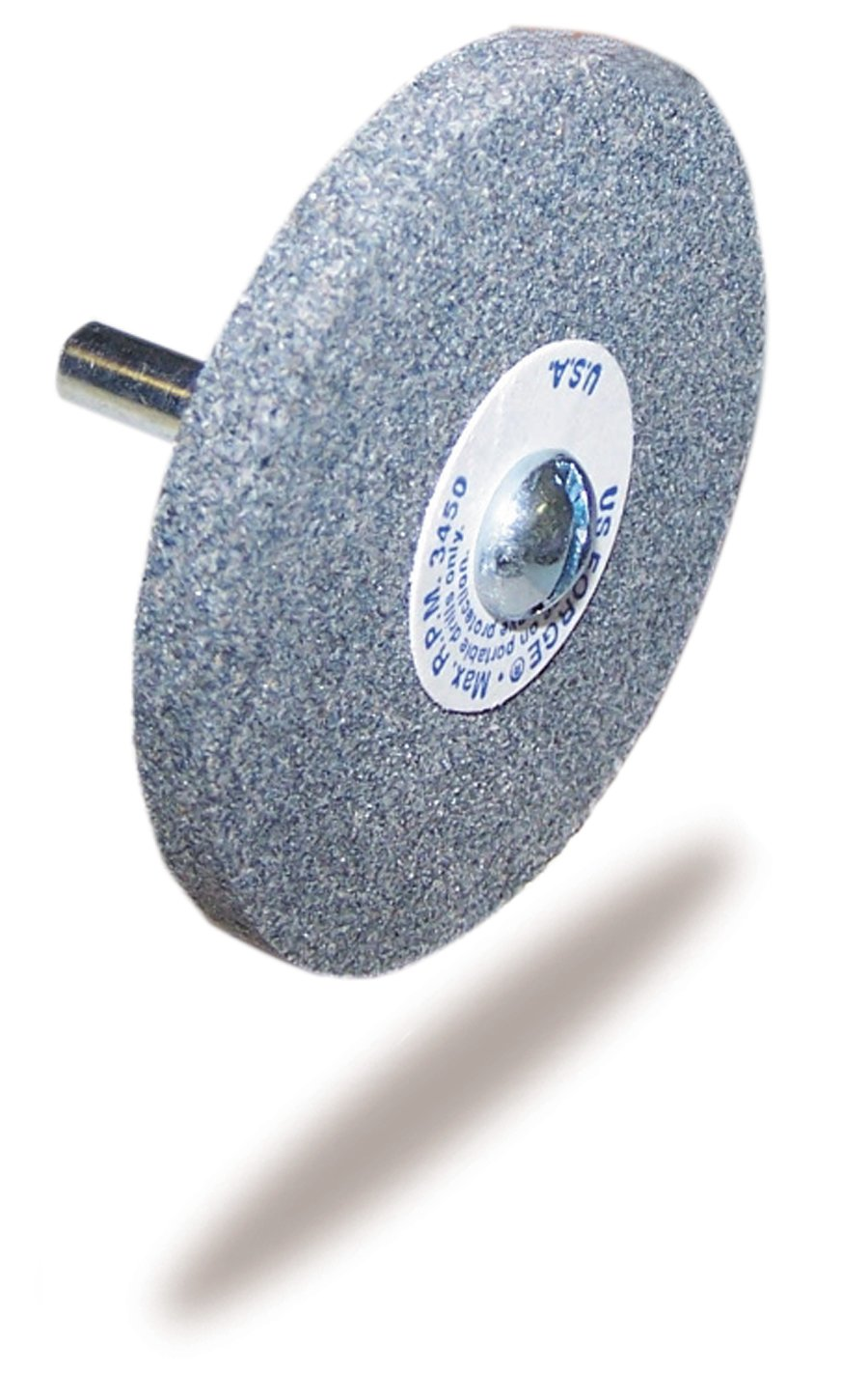 US Forge 742 Mounted Grinding Wheel, 2-Inch by 1/4-Inch 00742