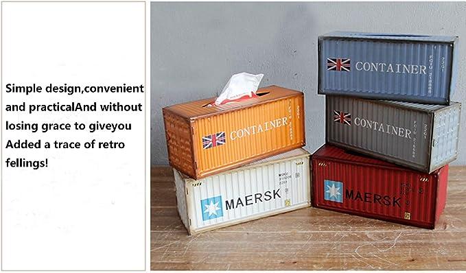 M.O.I - Caja de pañuelos de Metal para despachador de pañuelos, 32 ...