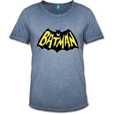 Child`s T Shirt with Batman Symbol