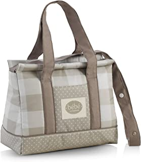 Cambrass Changing Bag Candy Street Sky (18 x 37 x 32 cm, Grey)