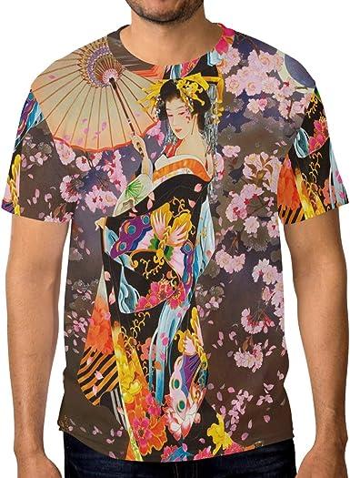 LUPINZ - Camiseta de Manga Corta para Hombre, diseño de ...