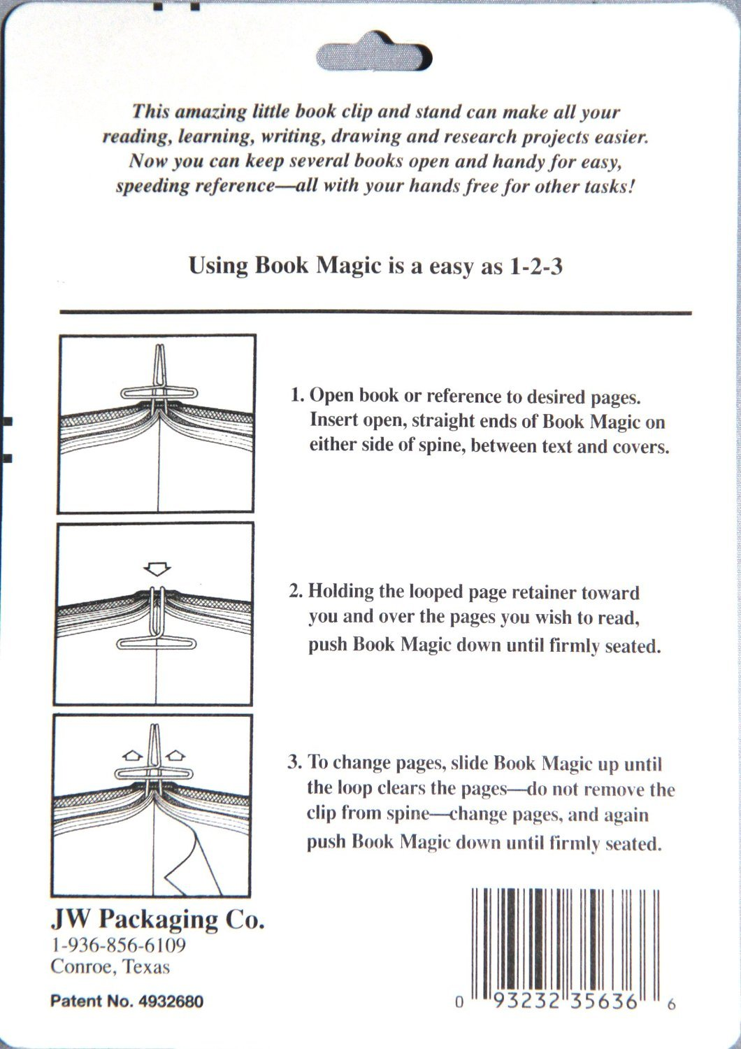 amazon com book magic book clip and stand chrome kitchen dining