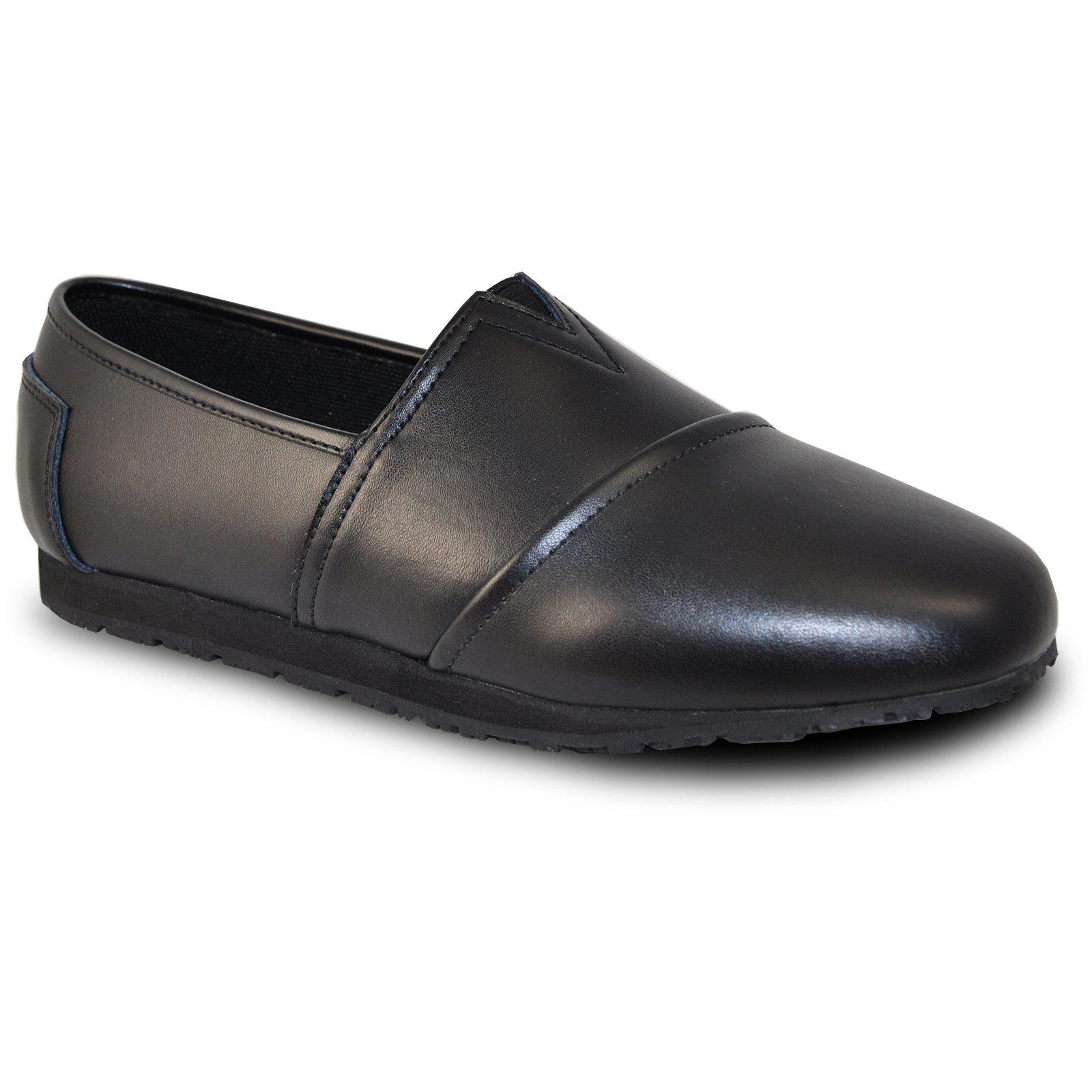 VANGELO Professional Slip Resistant Women Work Shoe Isana Black by VANGELO (Image #8)