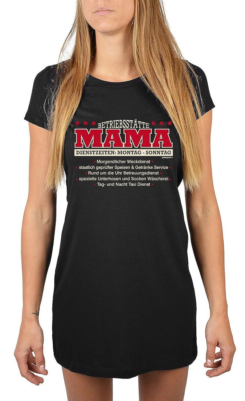 für Mama Nachthemd Betriebsstätte Mama - Dienstzeiten: Montag - Sonntag… Sommerkleid Nachtkleid Geschenk für Mama