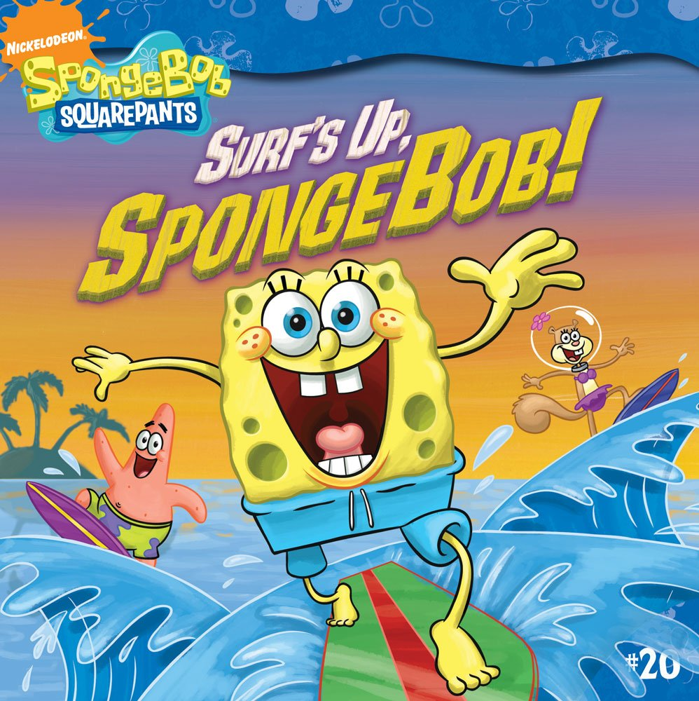 surf u0027s up spongebob spongebob squarepants david lewman