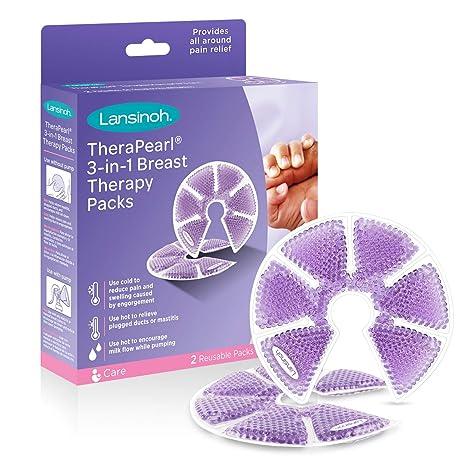 Lansinoh - Discos para gimnasia Pearl 3 en 1 Terapia de mama ...