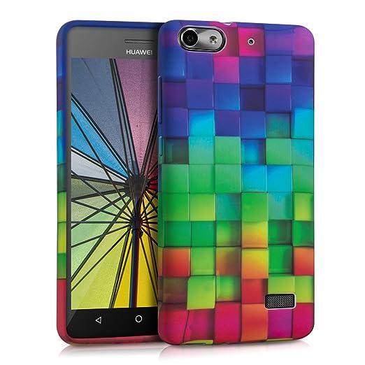 22 opinioni per kwmobile Cover per Huawei G Play Mini- Custodia in silicone TPU- Back case