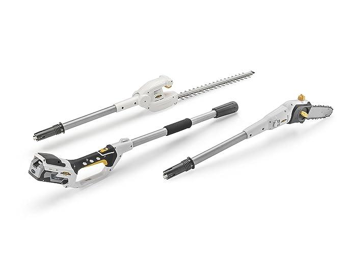 10 opinioni per Alpina MT 24 Li Multi-Atrezzo con Batteria 4 Ah e Caricabatterie, Bianco, 292 x