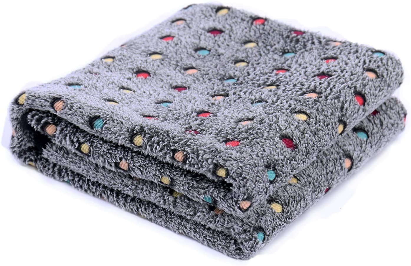 PAWZ Road Pet Dog Blanket Fleece Fabric Soft and Cute 4 Colors 4 Sizes