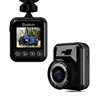 Byakov Dash Cam for Cars Full HD 1920x1080p 1.5inch LCD Deals
