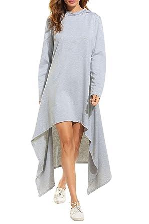 c722dba9eaa Dethler Maxi Dresses with Sleeves for Women Tunics for Women Plus ...