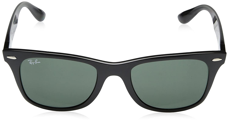 ebdea23d396d4 Rayban 0RB4195 624830 52 Montures de lunettes Bleu (Matte Blue Greyflash)