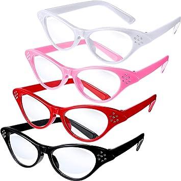 Amazon.com: Jovitec 4 piezas gafas de ojo de gato con ...