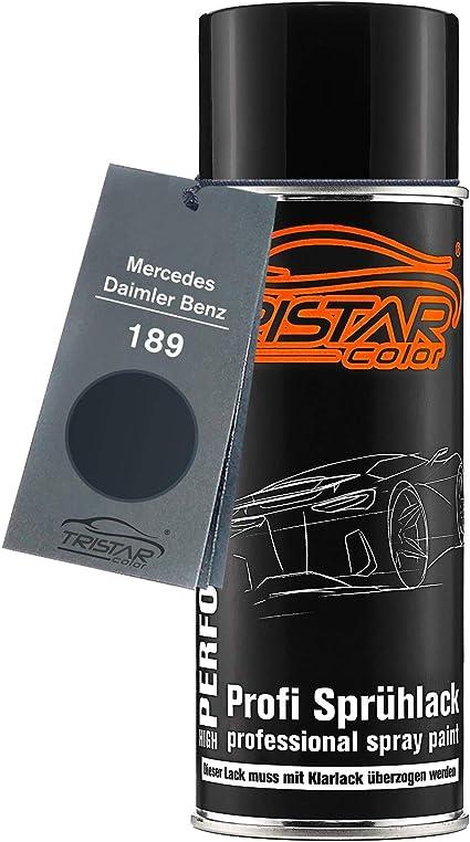 Tristarcolor Autolack Spraydose Für Mercedes Daimler Benz 189 Smaragdschwarz Metallic Basislack Sprühdose 400ml Auto