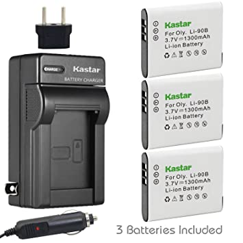 Amazon.com: Kastar Cargador, Batería para li-90b-1 LI-90B ...