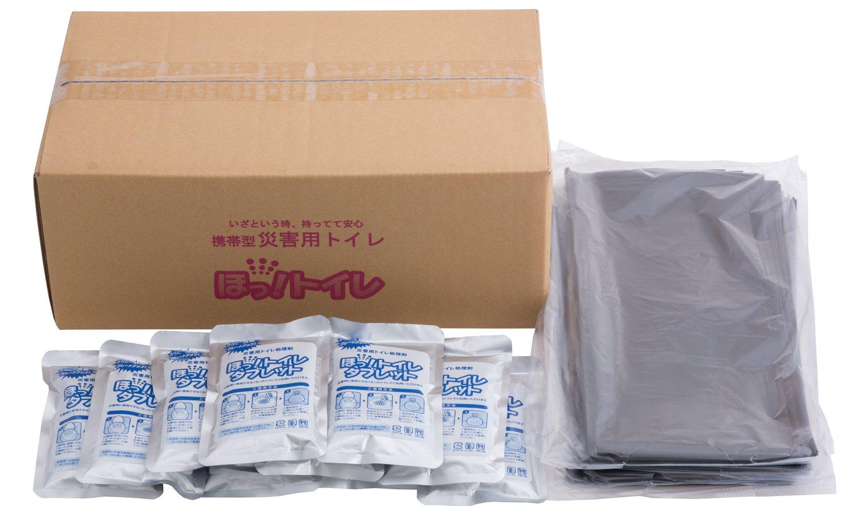 エクセルシア 簡易トイレ ほっ! トイレ タブレット 50g×100袋 (ビニール袋110枚付) HTB-001 B00S0PLMQI