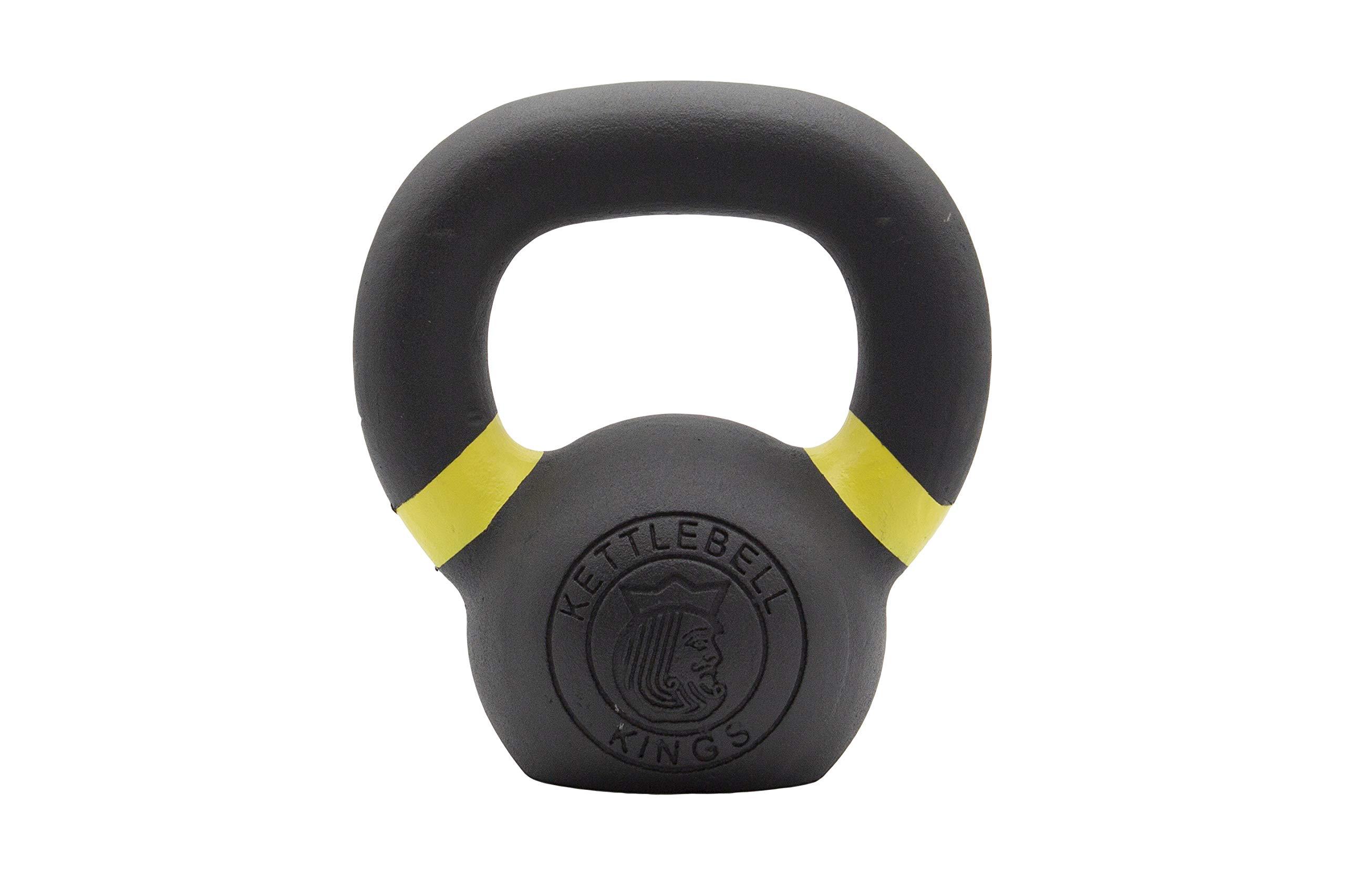 Kettlebell Kings | Kettlebell Weights | Powder Coat Kettlebell Weights for Women & Men | Powder Coating for Durability, Rust Resistance & Longevity (4)