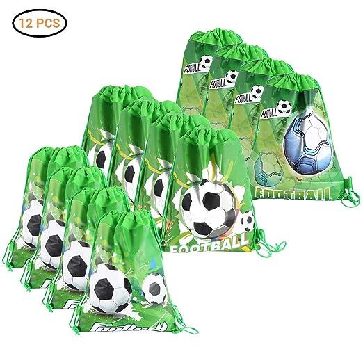 Neborn 12 Piezas de Dibujos Animados de fútbol no Tejidas ...
