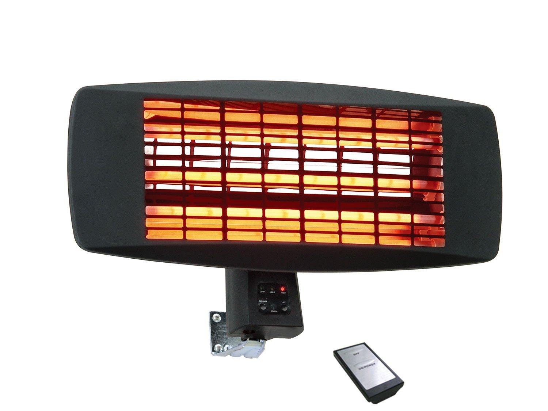 Traedgard radiateur Mural Infrarouge Fehmarn 650-2000Watt, avec télécommande Traedgard®