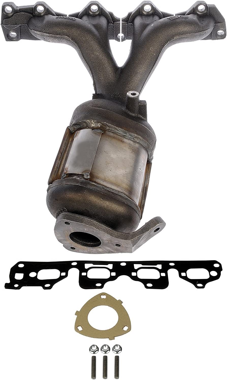 2.4L Catalytic Converter Exhaust Manifold for Chevrolet Malibu 2004-2008 2.2L