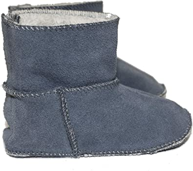 Toddler Baby Frenchie Mini Couture Sheepskin Lined Boot