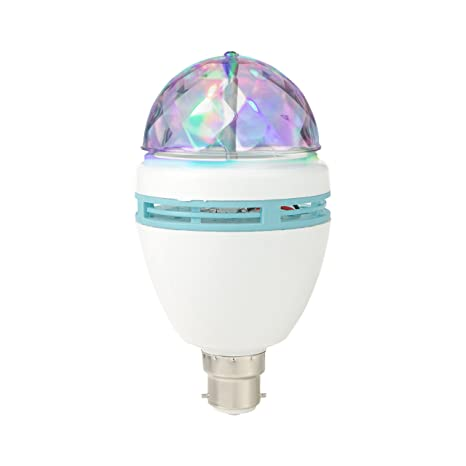 Global Gizmos 45350 B22 de bayoneta 3 W bombillas LED bombilla de fiesta