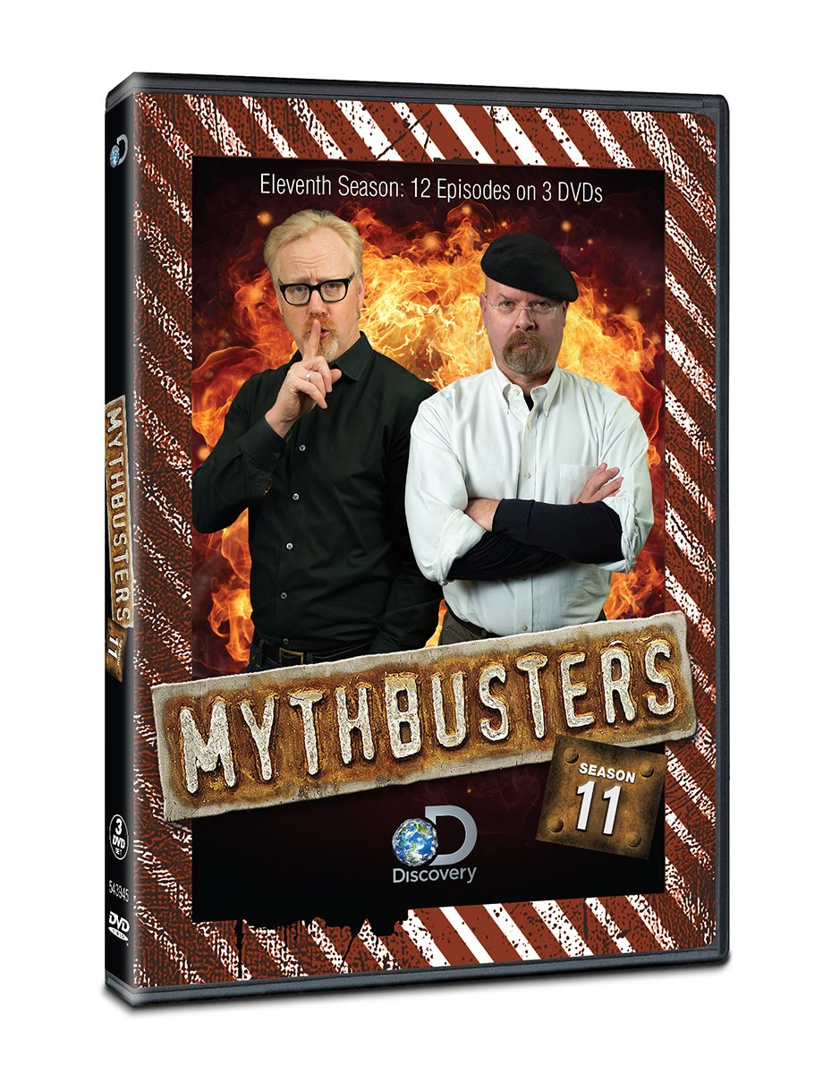Mythbusters Season 11 DVD