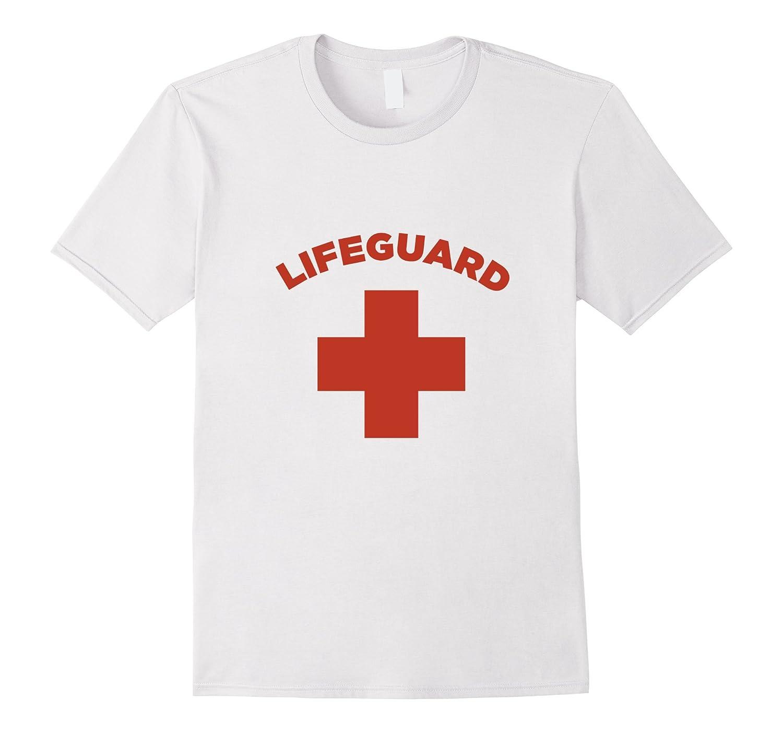 Lifeguard Shirt Official Certified Beach, Pool, Water Park-T-Shirt