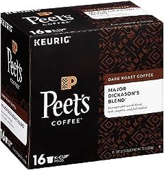 Peet's Coffee Major Dickason's Blend 16ct K-Cup Pack
