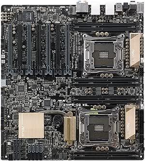 ASUS EEB Power with Dual CPU DDR4 Memory LGA 2011-3 Socket Motherboard Z10PE-D8 WS