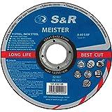 S&R Disques de tronçonnage pour Inox / acier inoxydable, acier, 125x10x22,23mm A60 S-BF.Set 25 pièce