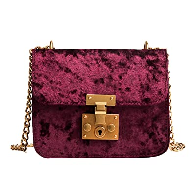 hot sale 2017 Coerni Women Retro Velvet Shoulder Bag