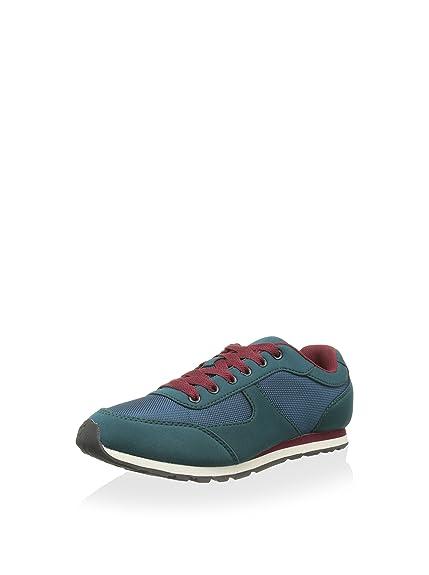 Springfield Zapatillas Verde Oscuro/Azul EU 37: Amazon.es: Zapatos y complementos