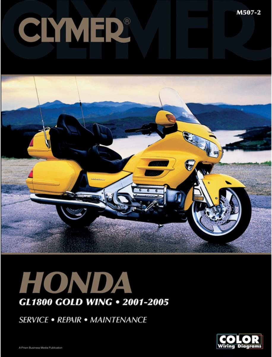 honda gl1200 motorcycle wiring diagrams amazon com clymer repair manual for honda gl1800 goldwing 01 05  clymer repair manual for honda gl1800