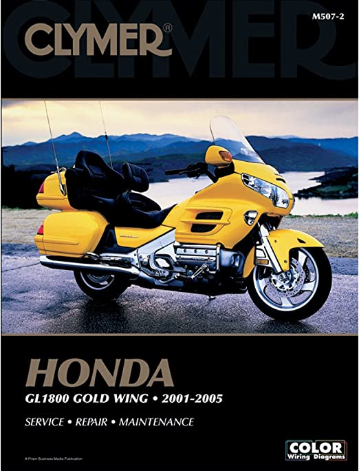 Amazon.com: Clymer Repair Manual for Honda GL1800 Goldwing 01-05: Automotive | 2005 Gl1800 Audio Wiring Diagram |  | Amazon.com