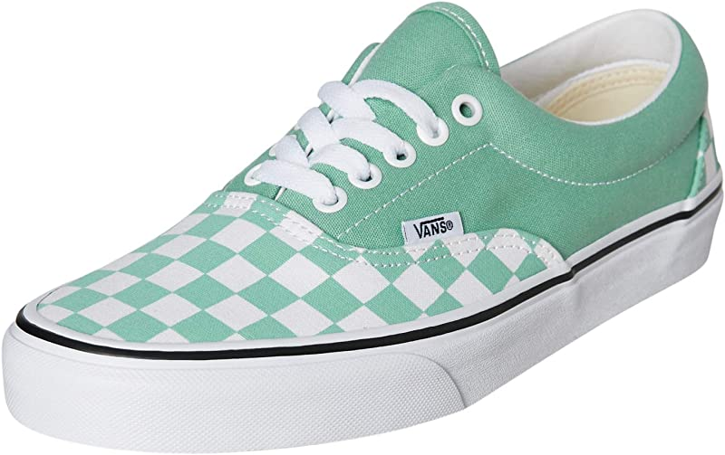 Vans Era Sneakers Damen Herren Unisex Grün/Weiß Kariert