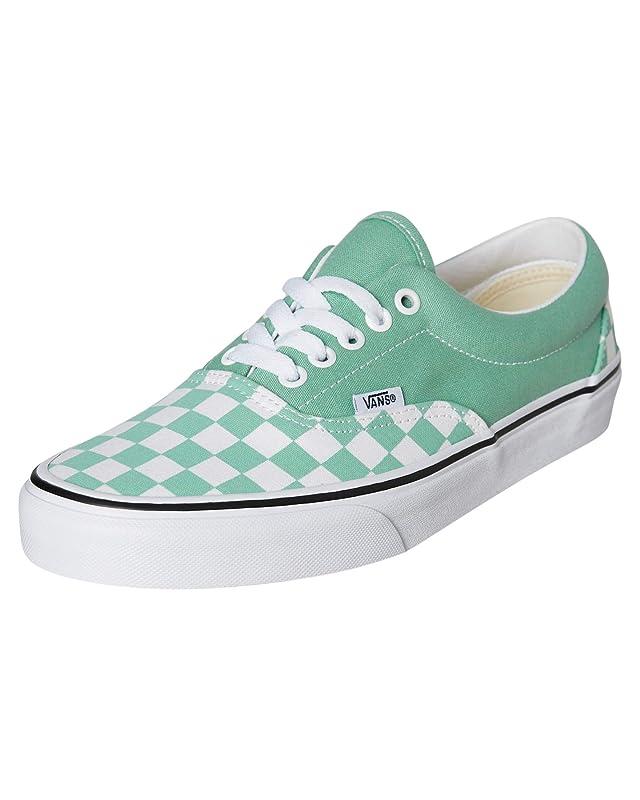 Vans Era Sneakers Damen Herren Unisex Grün-Weiß Kariert/Grün Größe EU 39