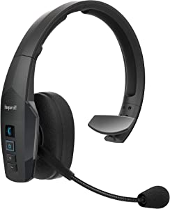 BlueParrott B450-XT Noise Cancelling Bluetooth Headset – Updated Design with Industry Leading Sound & Improved Comfort, Long Wireless Range, Up to 24 Hours of Talk Time, IP54-Rated Wireless Headset