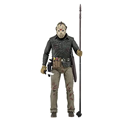 "NECA Friday The 13th Ultimate Part 6 Jason Action Figure (7"" Scale): Toys & Games"