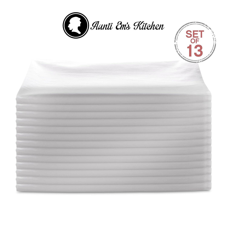 Amazon.com: Aunti Em\'s Kitchen Vintage Flour Sack Kitchen Dish ...