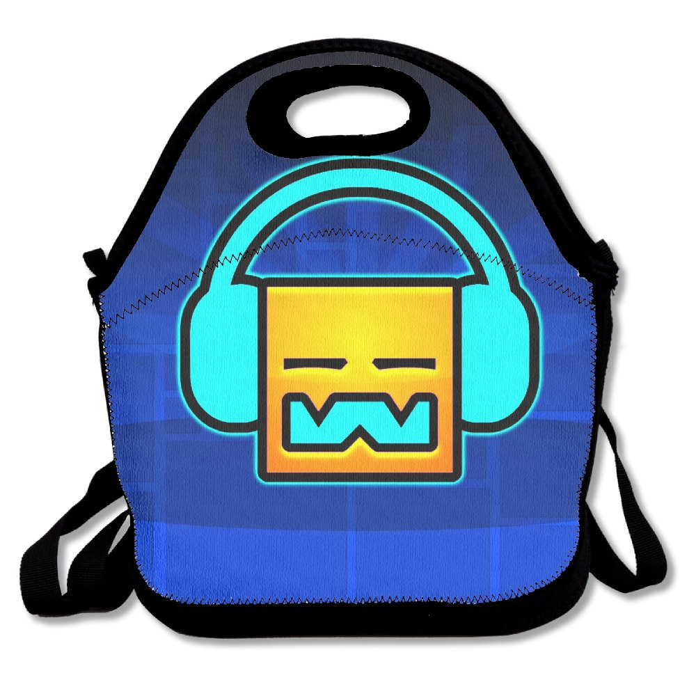 Geometry Dash Travel Tote Lunch Bag