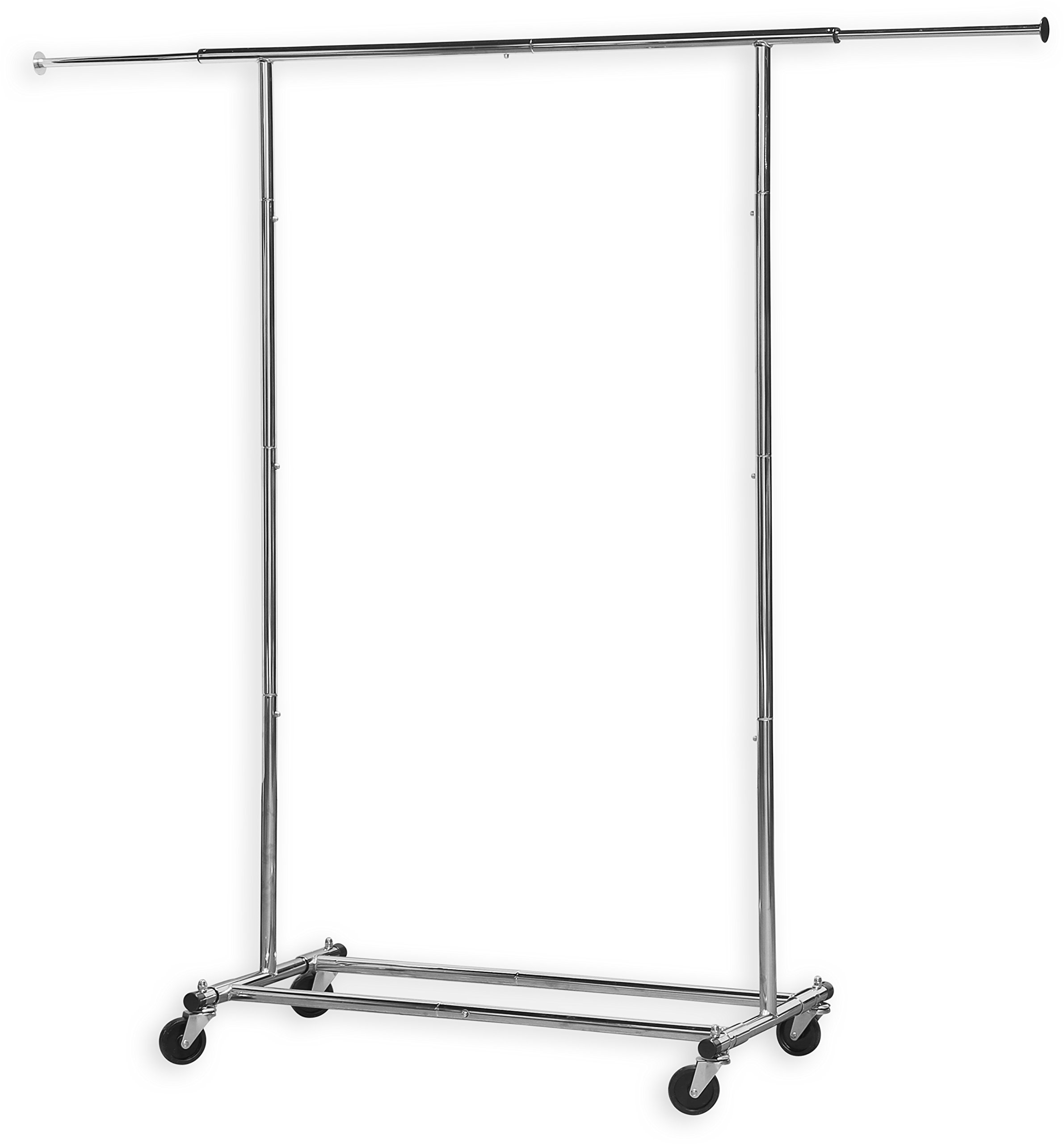 Simple Houseware Heavy Duty Clothing Garment Rack, Chrome by Simple Houseware (Image #3)