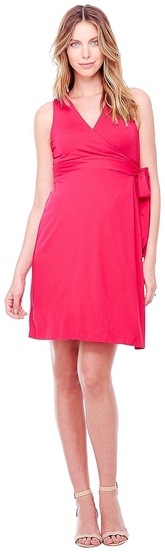 Ingrid & Isabel Women's Maternity Sleeveless Wrap Dress 1359