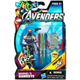 Marvel Avengers Movie 4 Inch Action Figure Marvels Hawkeye SnapOut Bow!