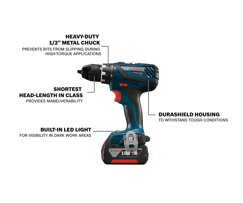 Amazon.com: Bosch GXL18V-232B22 - Kit de 2 herramientas de ...