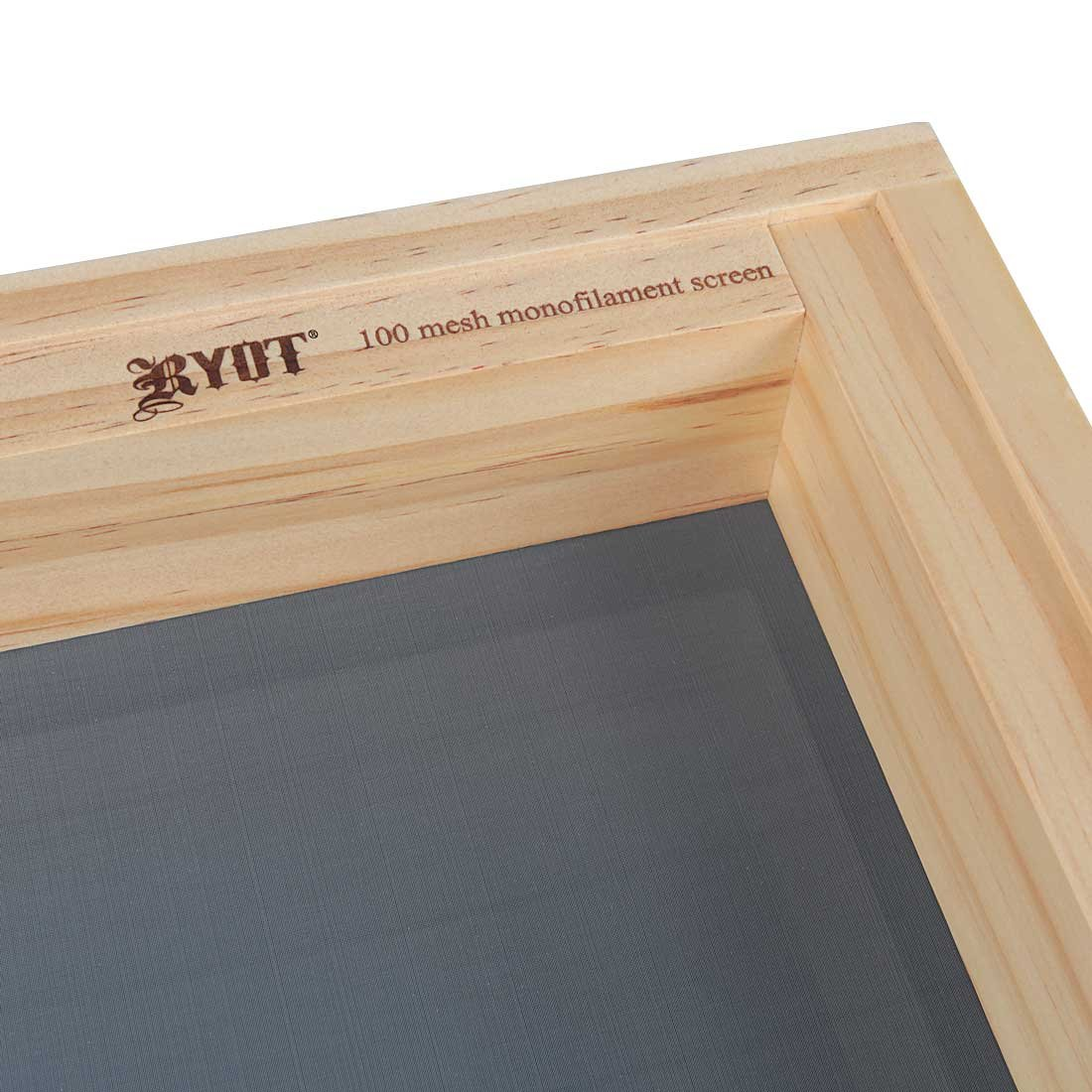 RYOT 15x15 ''Growers Box'' XL Natural Finish Wooden Pollen Sifting Box with Monofilament Screen by RYOT (Image #5)