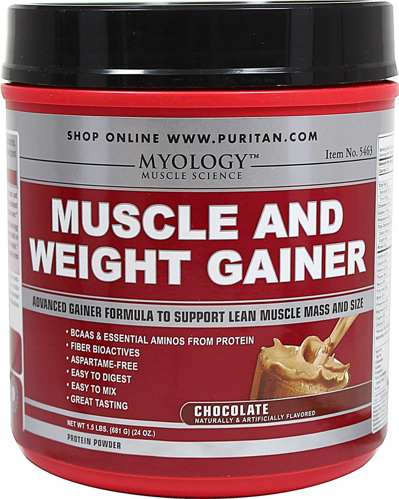 Myology Muscle & Weight Gainer Chocolate-1.5 lbs Powder
