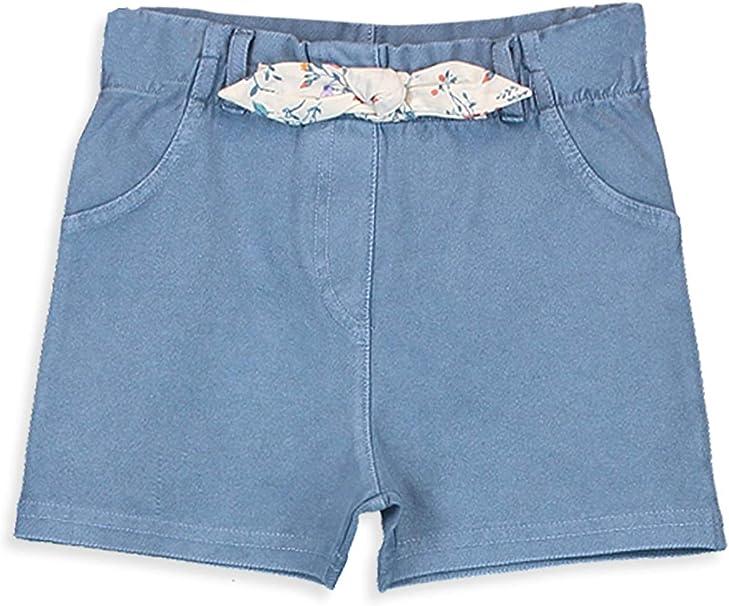 LC WAIKI Pantaloncini da bambina effetto jeans