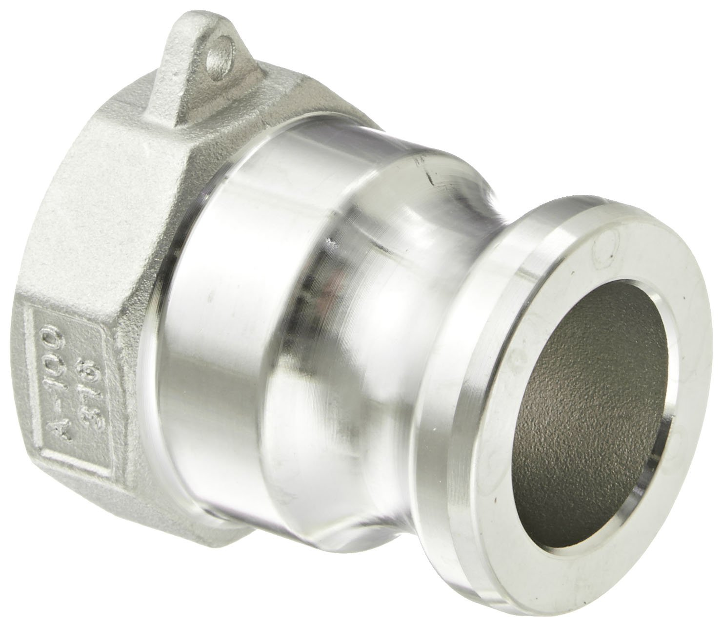 2 Plug x 2 NPT Male Dixon G200-F-SS Investment Cast Stainless Steel 316 Global Type F Cam and Groove Hose Fitting